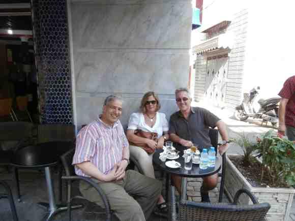 Hachmi Yebari, Berry y Sergio Barce