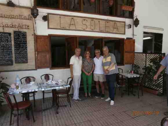 Majid Amahroq, Ana Berrocal, Sergio Barce y Hachmi Yebari en LA SOLEÁ