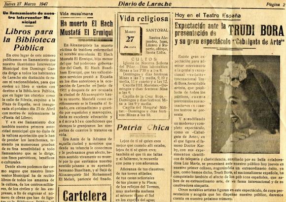ANUNCIO TEATRO ESPAÑA 1947