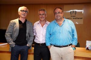 Jesús Ortega, Sergio Barce y Pepe Solís