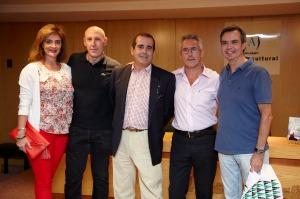 Lely, Pepe Sierras, Oscar Campoy, Sergio Barce y Alfonso González
