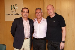 Oscar Campoy, Sergio Barce y Pepe Sierras