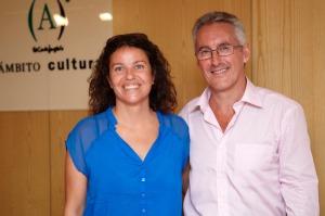 Paquita Torres y Sergio Barce