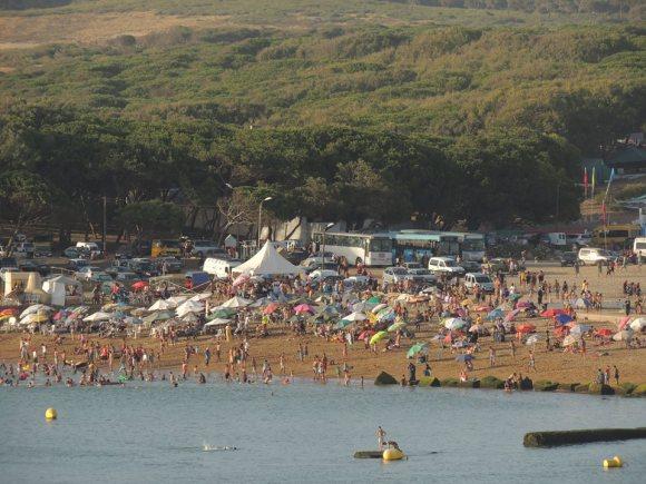Playa de Larache - foto Aziz Bouhdoud