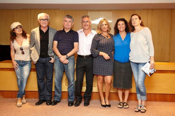 Sandra Barce, Jesús Ortega, Antonio Berrocal, Sergio Barce, Berry, Paquita Torres y Marichu
