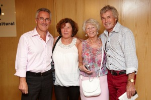 Sergio Barce, Mari Carmen Costa, Linda y Jack Wells