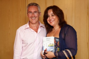 Larachenses: Sergio Barce con Cristina Fernández Carrillo
