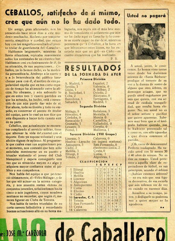 SUPLEMENTO DEL LARACHE 1947  3