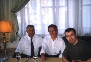 Mohamed Akalay, Sergio Barce & Lorenzo Silva