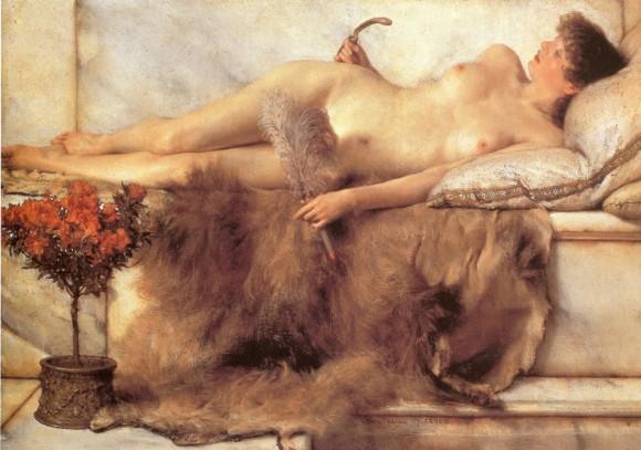 Tepidarium, lienzo de Alma Tadema