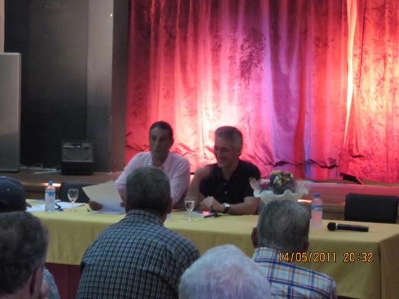 Abdellatif Limami y Sergio Barce