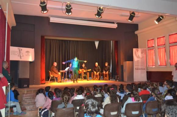 Actuación en el Luis Vives
