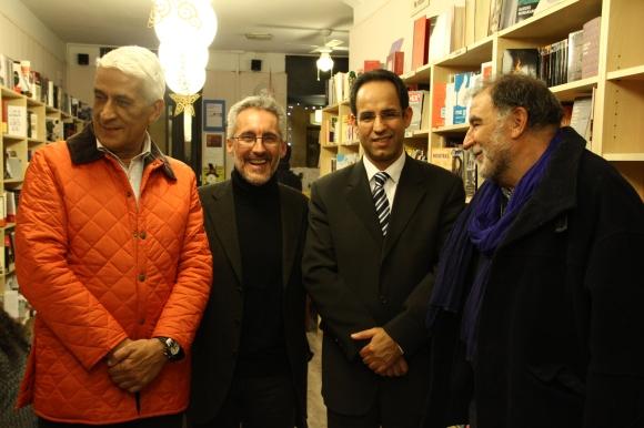 CRISTOBAL RAMIREZ, SERGIO BARCE, MOHAMMED DAHIRI E IGNACIO JORI