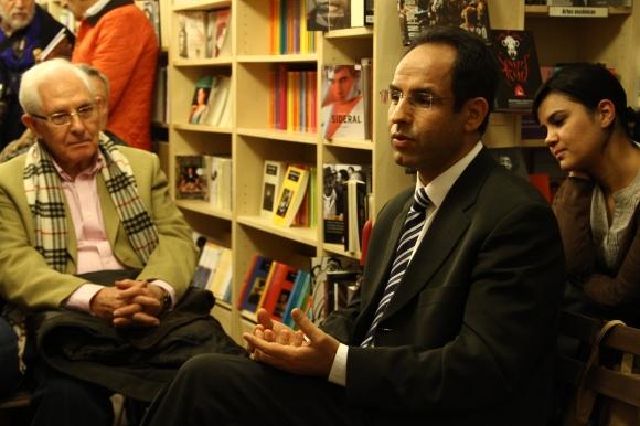En el coloquio intervino el Dr. Mohammed Dahiri
