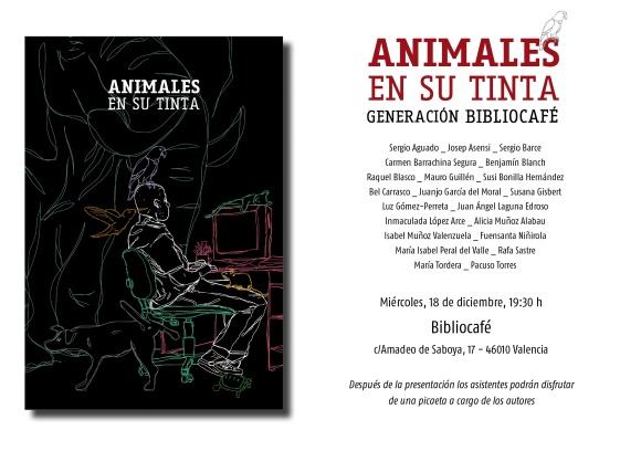 Invitacioìn Animales en su tinta