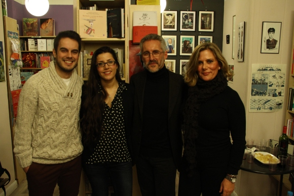 PABLO, LIDIA, SERGIO Y BERRY