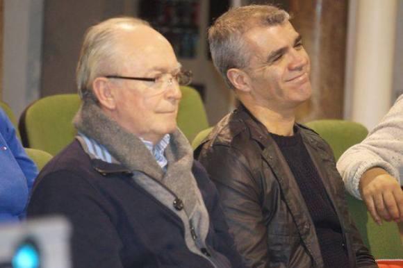 Diego Silva y Miguel Vega  (Foto de Juan Moya)
