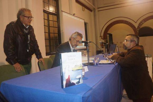 Larachenses: León Cohen, Sergio Barce y Eduardo Espinosa (foto de Juan Moya)