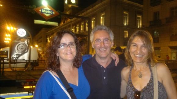 Gabriela Grech, Sergio barce y Yamila Yacobi