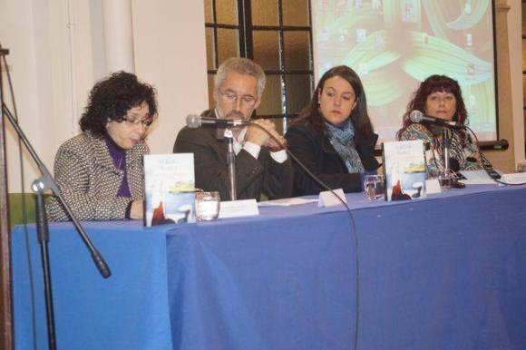 Paloma fernández Gomá, Sergio Barce, Laura Ruiz y Nurya Ruiz - (foto Juan Moya)