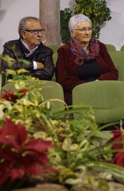 León Cohen y Julia  (foto de Juan Moya)