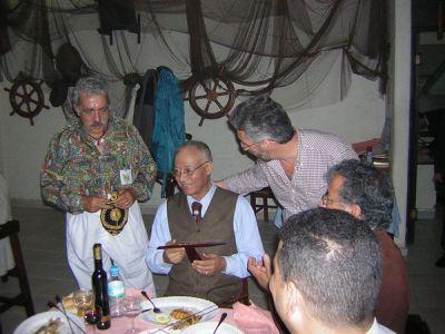 Larache - Casa de España : Sibari entre José Luis Gómez y Sergio Barce
