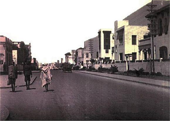 avenida mohamed V en 1930