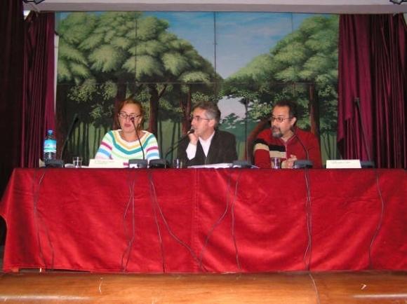 María Dolores López Enamorado, Sergio Barce y Mohamed Laabi - Colegio Luis Vives de Larache