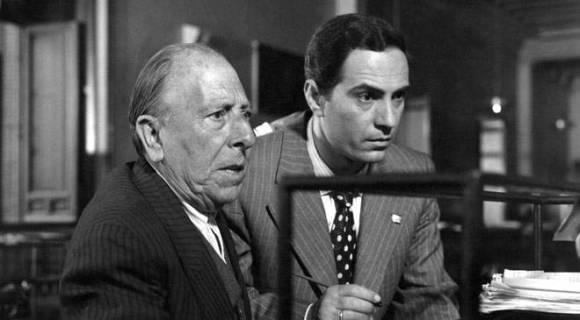 Pepe Isbert y Nino Manfredi en El verdugo