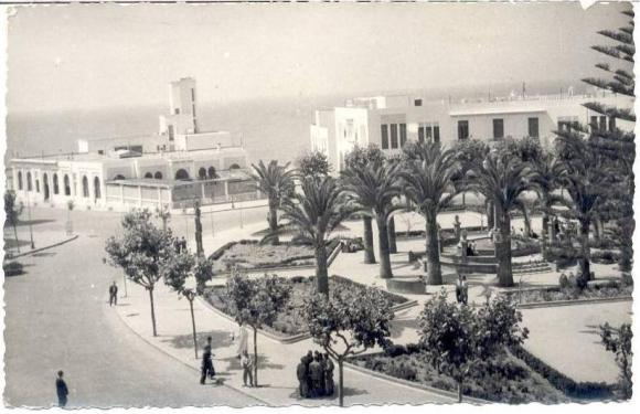 LARACHE - Plaza de España (hoy de la Liberación)