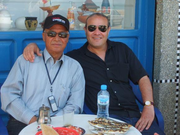 Mohamed Sibari y Abdellatif Lalami
