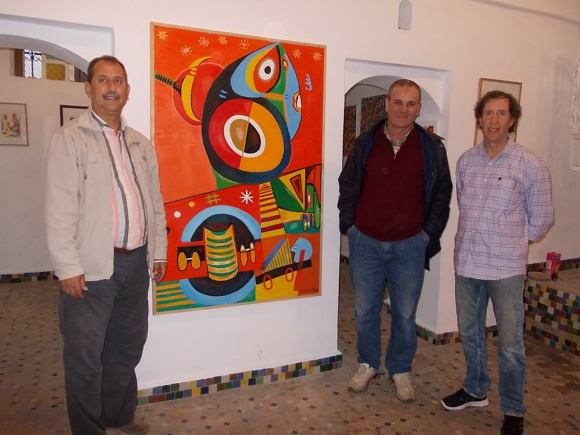 Ahmed Guennouni, Ahmed Ragala y MOHAMAD GUENOUNI