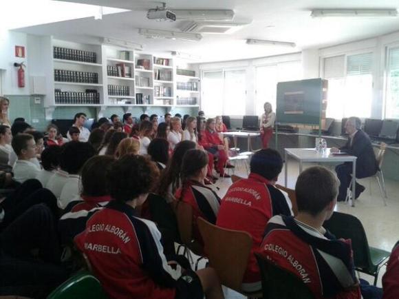 En el Colegio Alborán