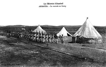 Arbaoua - La rentrée au camp