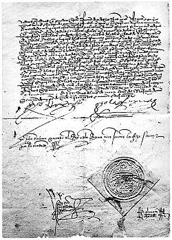 Edicto de Granada de Expulsión de los judíos