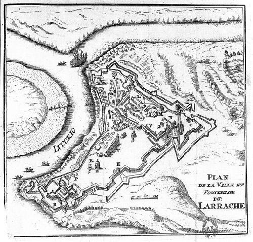 Mapa de Larache