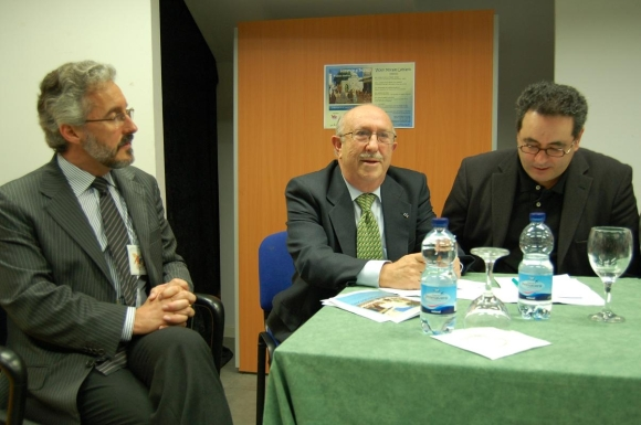 SERGIO BARCE, JOSE EDERY y ADNAN MECHBAL