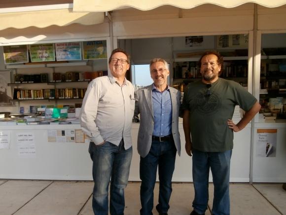 VICTOR PÉREZ, SERGIO BARCE Y RAFAEL