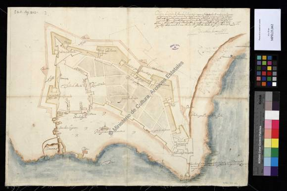 PLANTA DE LA CIUDAD DE LARACHE, 1612