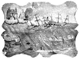 Ataque corsario (de la web www.galeon.com)