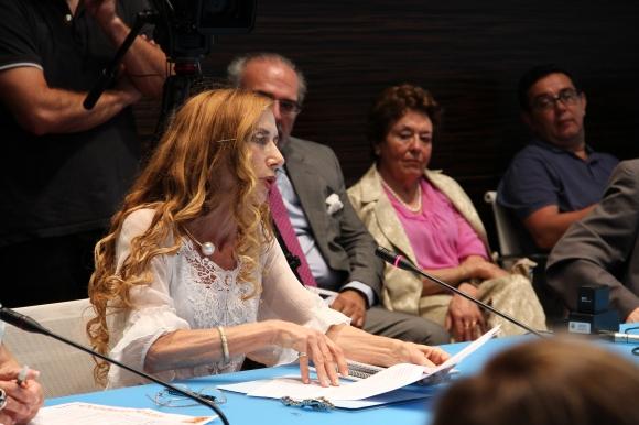 Intervención de LEONOR MERINO  (Foto: Pablo Barce)