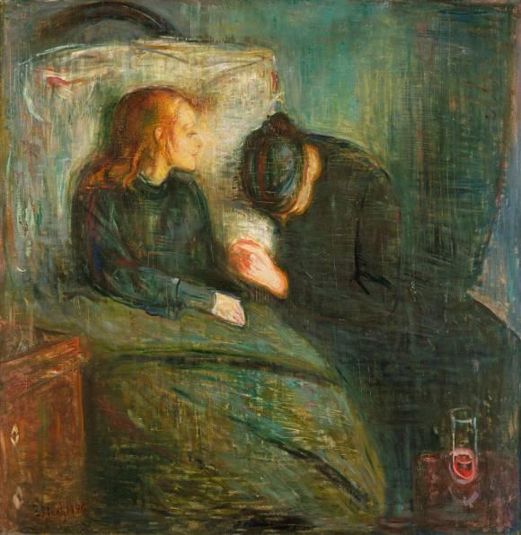 LA NIÑA ENFERMA de Munch
