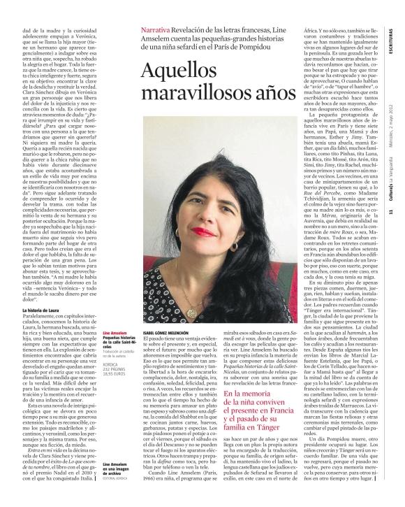 Line Amselem - entrevista