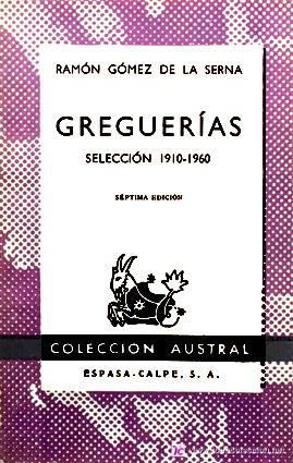 GREGUERÍAS -