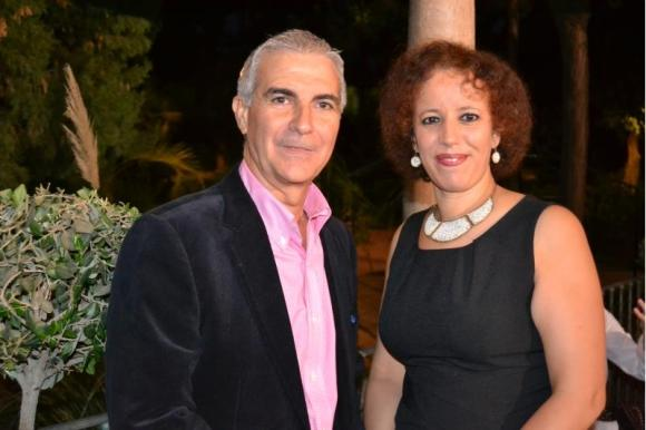 Pepe Sarria y Sumaya Dahir