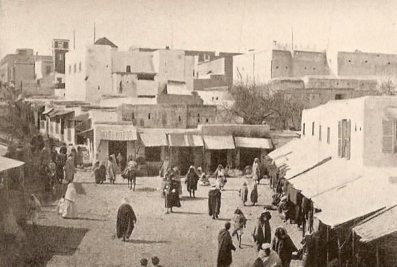 Tánger, en 1884. Foto tomada del blog de Francisco Saro Gandarillas