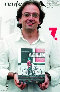 Pablo Cantos presentando su película Imaginario - foto de malagahoy.es
