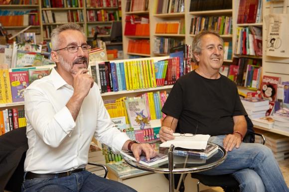 Sergio Barce y José Garriga