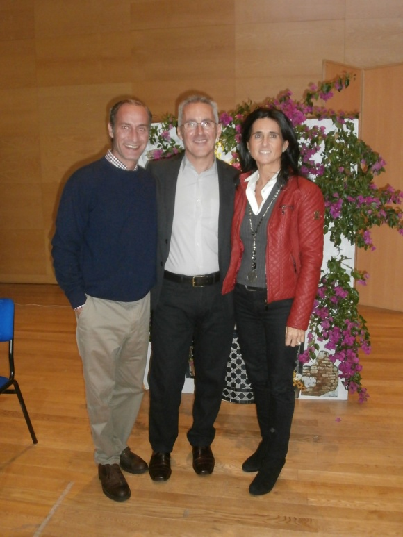 Diego, Sergio y Natalia Vallés