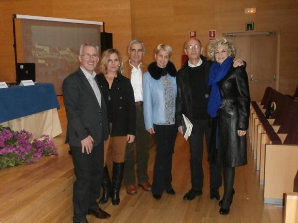Sergio, Berry, Jose, Larisa, Manuel y Ana